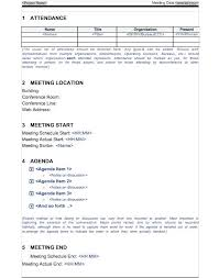 Meeting Note Taking Template – Gloryandhonour.co