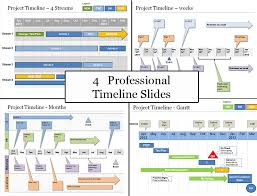 Powerpoint Project Timeline Planning Template