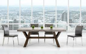 Concrete Top Dining Tables Adonis Concrete Top Dining Table Industrial Dining Tables