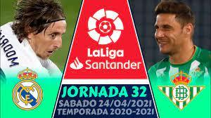 🔥 RESUMEN y GOLES ➤ Jornada 32 🏆 La LIGA ESPAÑOLA 2021 (LaLiga Santander)  REAL MADRID vs BETIS (0-0) - YouTube