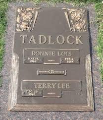 Bonnie Lois Teague Tadlock (1940-2015) - Find A Grave Memorial