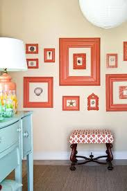 love whimsical stylish simple gallery wall idea