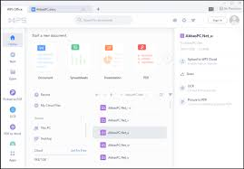 WPS Office 2019 v11.2.0.9431 with Crack (Latest) | AbbasPC