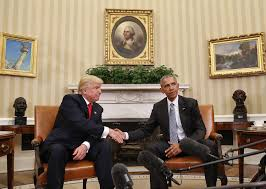 obamas oval office. 111016 Obama Trump WH Transcript Pic \ Obamas Oval Office