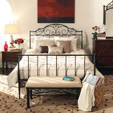 iron bedroom furniture sets. queen sleigh bed frame metal antique vintage wrought iron cast bedroom furniture sets