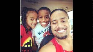 Jimmy Uso and his wife Naomi Knight and ...