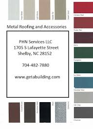Metal Roofing And More Www Getabuilding Com