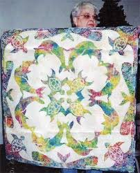 Best 25+ Tropical quilts ideas on Pinterest | Hawaiian quilt ... & Sea turtles and dolphin quilt Adamdwight.com