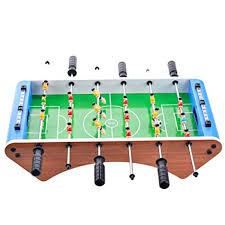 Amazon Com Toyvian Foosball Table Mini Tabletop Sports