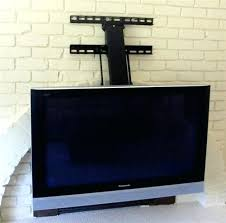 T Expensive Pull Out Tv Mount Y3094371 Down Over Fireplace  Canada
