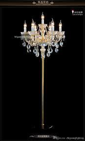 Großhandel Europäische Kristall Stehleuchte Moderne Wohnzimmer Esszimmer Studie Schlafzimmer Nachttischlampe Einfache Luxus Led Kerzenlampe Von