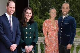 Prince William, Kate Middleton celebrate her brother's wedding