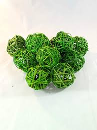 Lime Green Decorative Balls