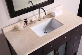 light brown double granite bathroom vanity tops and round undermount
