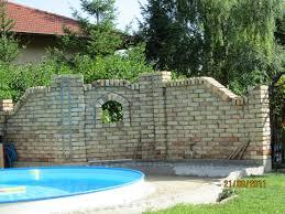 Garten Deco Deco Garten Sichtschutz Mauer_gartenmauer Mauer