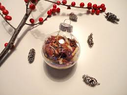 glass ornament bread dip