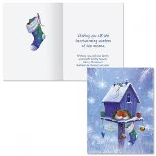 Welcome Home Note Card Size Christmas Cards Colorful Images