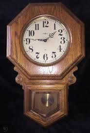 howard miller schoolhouse wall clock