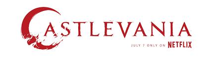 netflix logo. final castlevania netflix series logo design