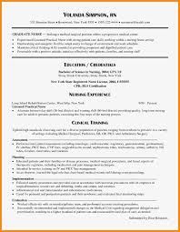 98 New Grad Lpn Resume From Graduate To Lpn Resume Perfect Format