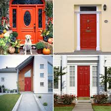 painted residential front doors. Tradition Of Painting Front Door Red Painted Residential Doors