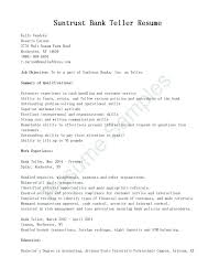 Bank Teller Job Description For Resume Cool Teller Description For Resume Tylermorrisonco