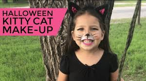 easy makeup tutorial kitty cat cat makeup kid cat makeup