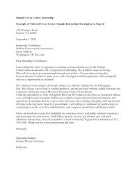 Sample Cover Letter University Converza Co