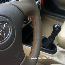 leather steering wheel cover for toyota corolla e12