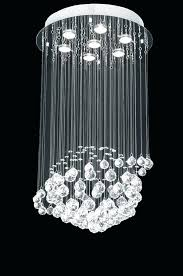 contemporary crystal chandelier windfall