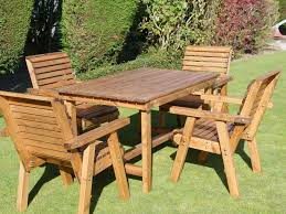 garden patio dining set 4 seater