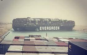 เรือบรรทุกสินค้าเกยตื้นทำคลองสุเอซเป็นอัมพาต - Pantip