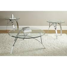 glass and chrome coffee table sets beautiful chrome glass coffee table set