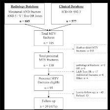 Circulation Chart For Fracture Flow Chart Depicting The Patient Selection Mtv Fifth