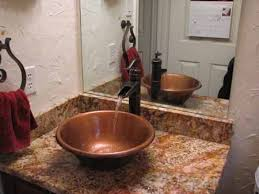 copper bathroom. Jane T39s Home Copper Sinks For The Kitchen Amp Bath Bathroom