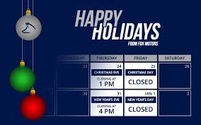 please take note of our 2016 holiday hours we hope you have a great holiday