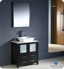 bathroom vanity set with mirror contemporary 36 single by bosconi zola 30 virtu