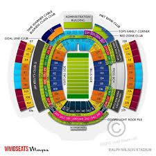 Buffalo Bills Seating Chart Ralph Wilson Stadium Seating Diagram