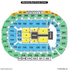 Mandalay Bay Theater Seating Chart 48 Circumstantial Mandalay Bay Event Center Map