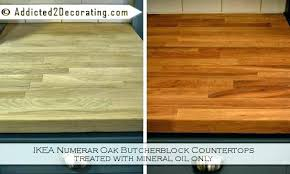 sealing butcher block countertops how to seal butcher block polyurethane finish for finishing and wood prepare