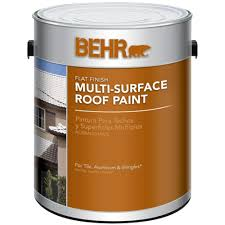 white reflective flat multi surface roof paint