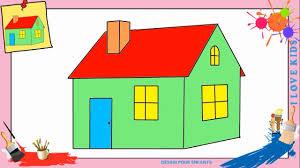 Dessin De Maison Facile 2 Comment Dessiner Une Facilement Etape Par