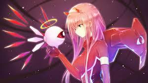 Anime Girl Desktop Wallpaper Aesthetic ...