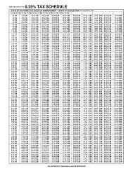 83 Pdf 8 Sales Tax Chart Printable Hd Docx Download Zip