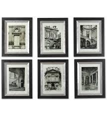 uttermost 33430 paris scene framed art set of 6 undefined on wall art set of 6 with uttermost 33430 paris scene framed art set of 6 lamps