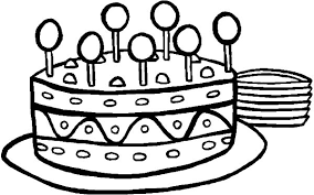 Small Picture Sweet Lollipop on Birthday Cake Coloring Pages NetArt
