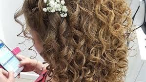 بوابة الفجر تسريحات شعر كيرلي اختاري الأنسب يوم الزفاف