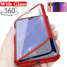 <b>360</b>° <b>Full Protection</b> PC Case+Tempered Glass Film For Samsung ...