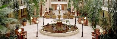 Embassy Suites Charleston   Historic Charleston Hotel, Sc   Atrium Fountain  And Seating Area