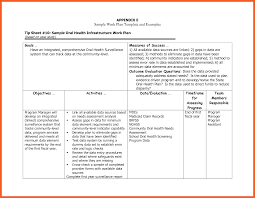 Sample Work Plan 2424 Work Plan Example Kfcresume 9